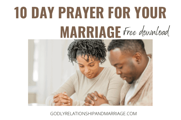 Pray for your Spouse